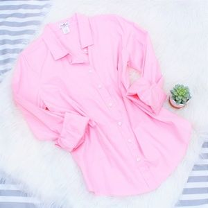 Haberdashery Stretch Perfect Shirt in Pink